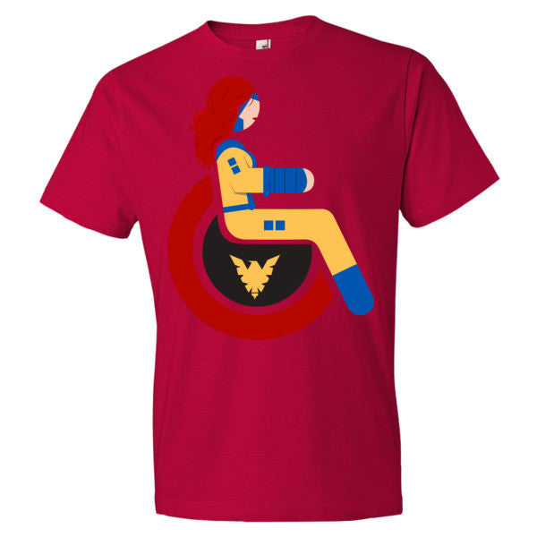 Men's Adaptive Jean Grey Lightweight T-Shirt