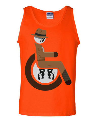 Men's Adaptive Rorschach Tank Top