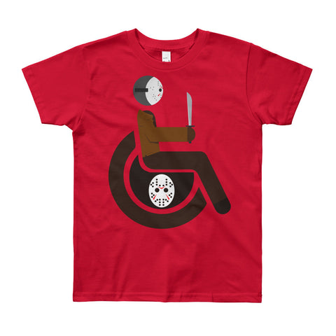 Youth Adaptive Jason Voorhees T-Shirt (8yrs-12yrs)
