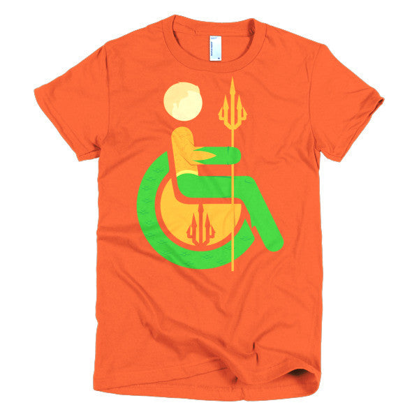 Women's Adaptive Aquaman T-Shirt (XL-2XL)