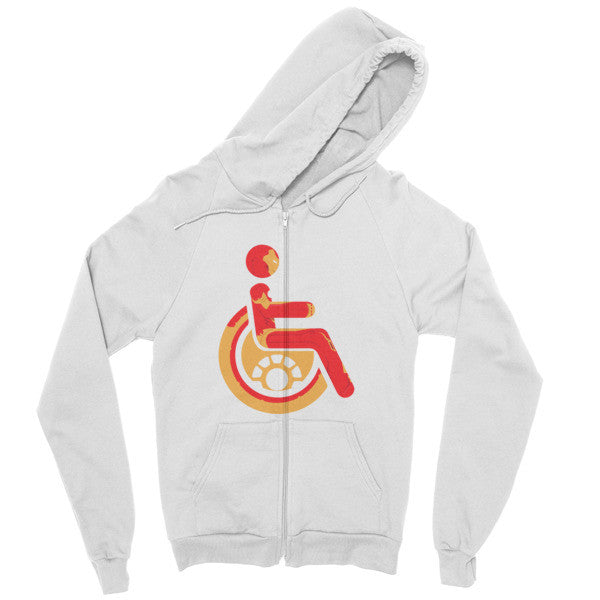 Men's Adaptive Iron Man Zip Hoodie