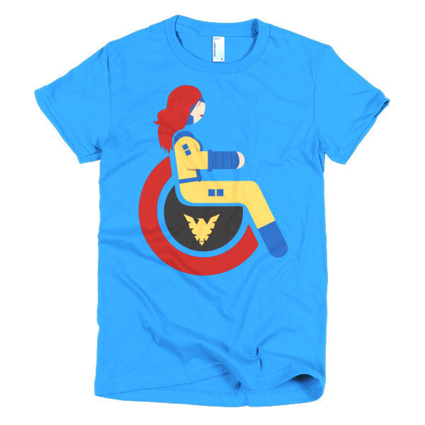 Women's Adaptive Jean Grey T-Shirt (XL-2XL)
