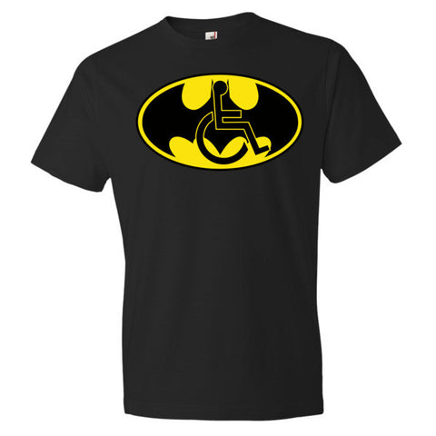 Men's Adaptive Batman Symbol Lightweight T-Shirt