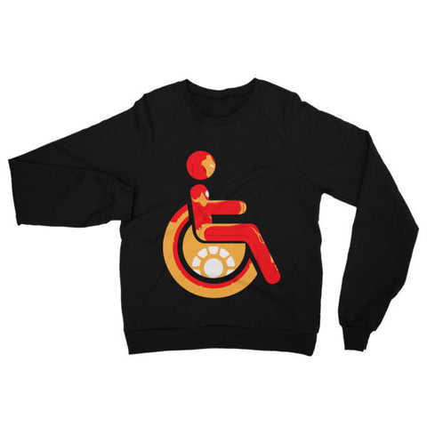 Adaptive Iron Man Raglan Sweater