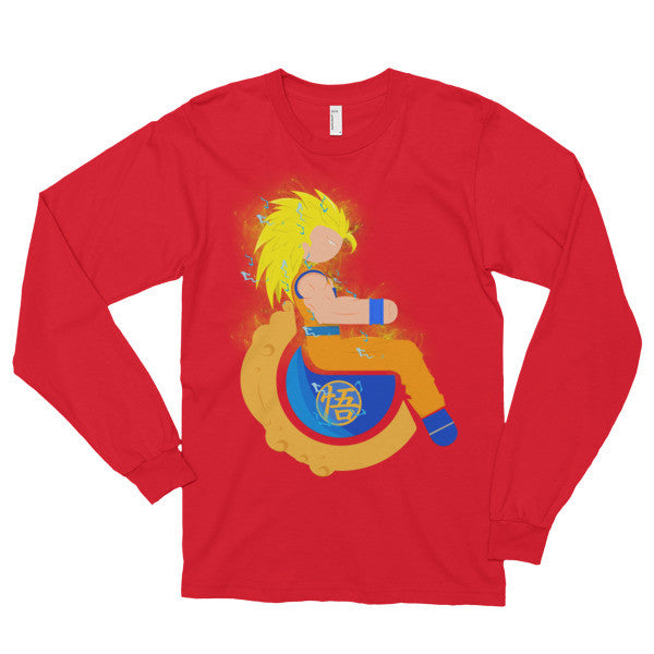 Adaptive Super Saiyan 3 Goku Long Sleeve