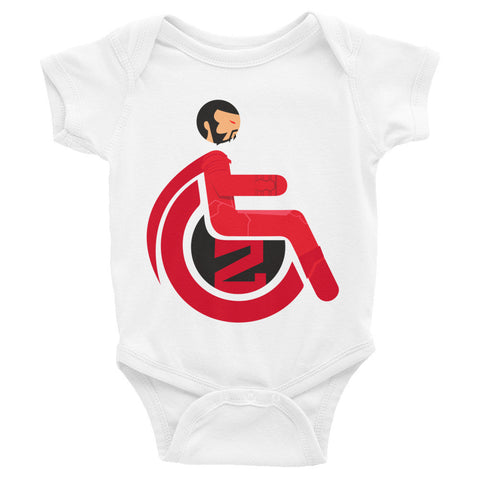 Adaptive General Zod Baby Onesie
