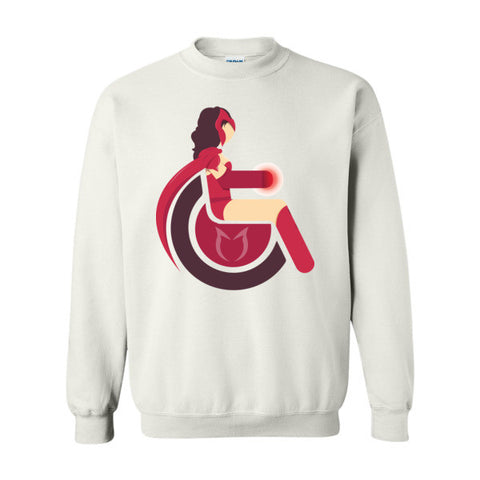 Men's Adaptive Scarlet Witch Crewneck Sweatshirt