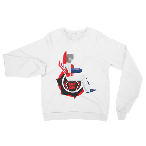 Adaptive Starscream Raglan Sweater