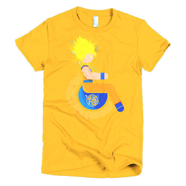 Women's Adaptive Super Saiyan 2 Goku T-Shirt (S-L)