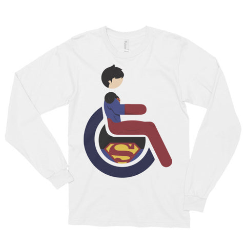 Adaptive Superboy Long Sleeve