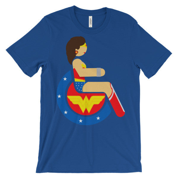 Adaptive Wonder Woman Short Sleeve T-Shirt