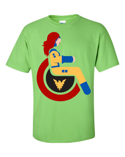 Men's Adaptive Jean Grey T-Shirt