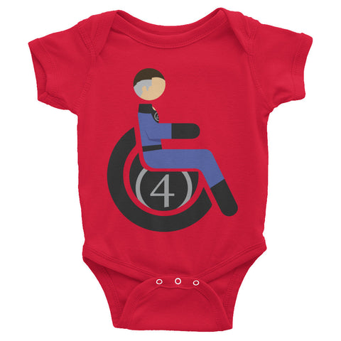 Adaptive Mr. Fantastic Baby Onesie