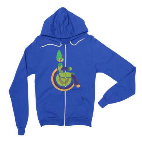 Adaptive Semi-Perfect Cell Flex Zip Hoodie