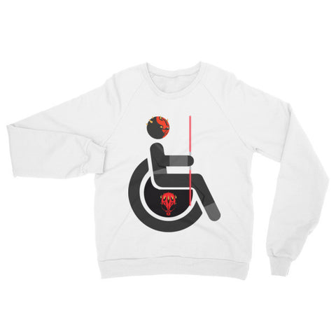 Adaptive Darth Maul Raglan Sweater