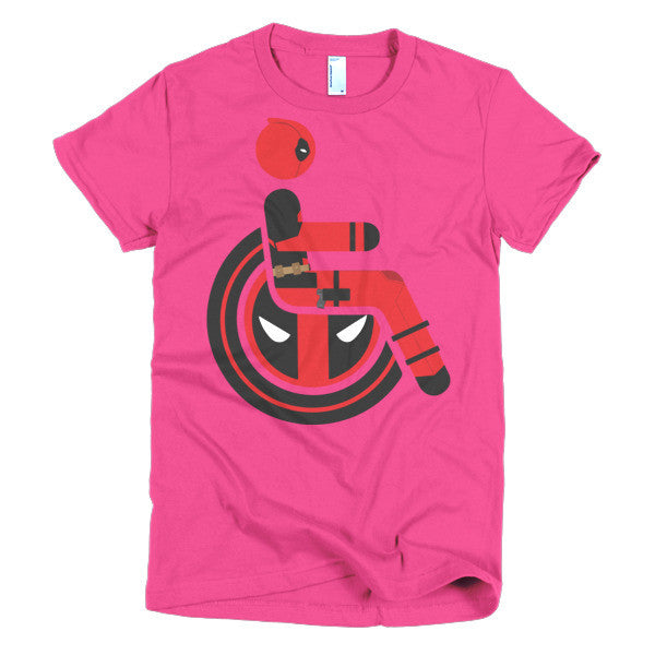 Women's Adaptive Deadpool T-Shirt (S-L)