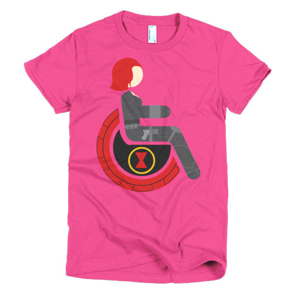 Women's Adaptive Black Widow T-Shirt (XL-2XL)