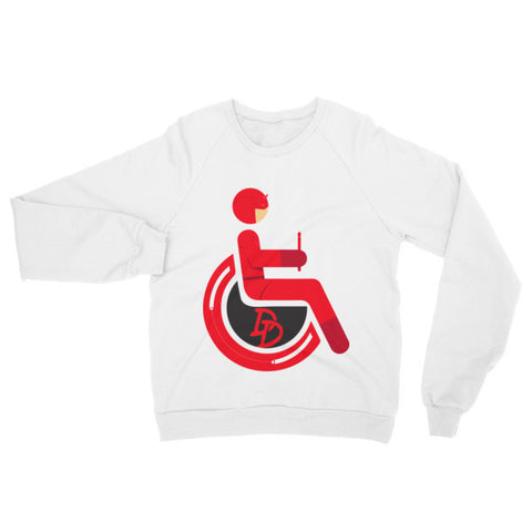 Adaptive Daredevil Raglan Sweater