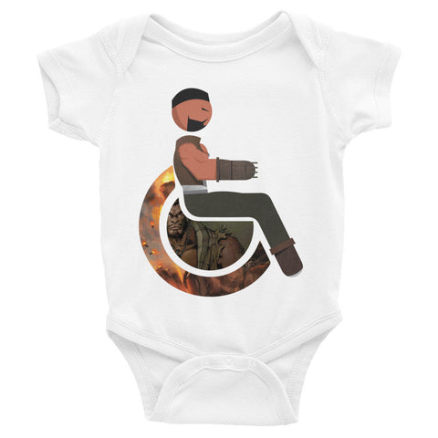 Adaptive Barret Wallace Baby Onesies