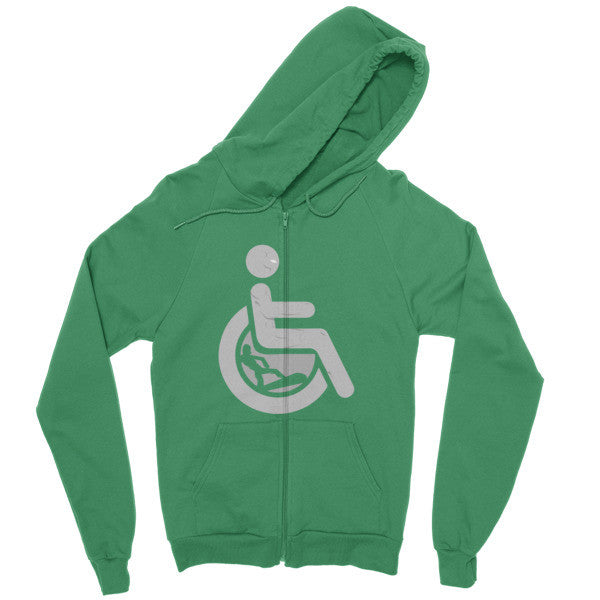 Men's Adaptive Silver Surfer Zip Hoodie