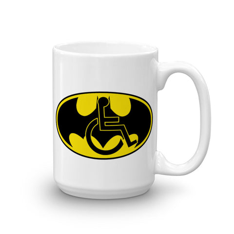 15oz Adaptive Batman Symbol Mug