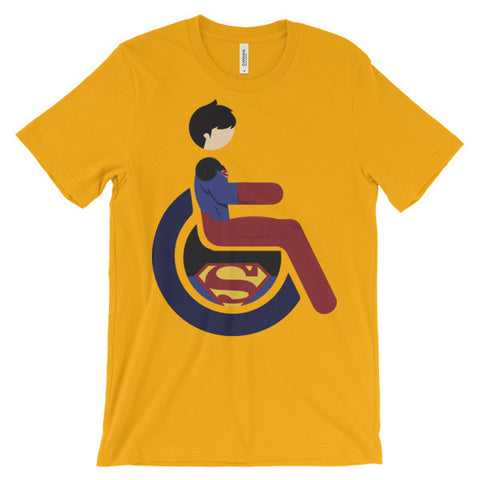 Adaptive Superboy Short Sleeve T-Shirt