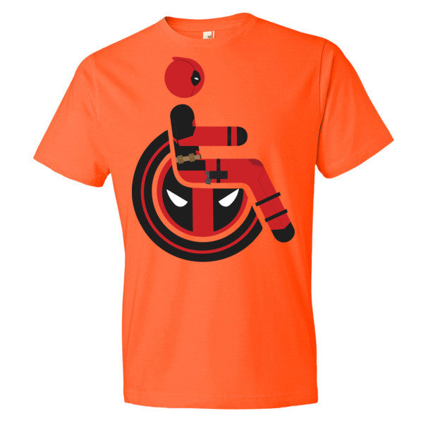 Men's Adaptive Deadpool Lightweight T-Shirt