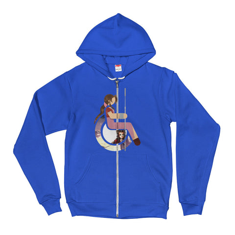 Adaptive Aerith Gainsborough Flex Zip Hoodie