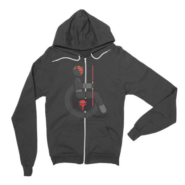 Adaptive Darth Maul Flex Zip Hoodie
