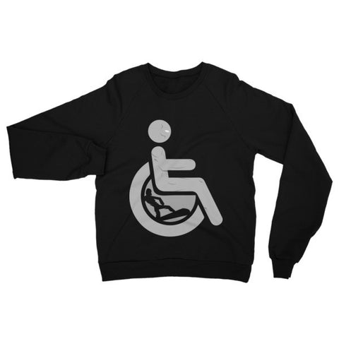 Adaptive Silver Surfer Raglan Sweater