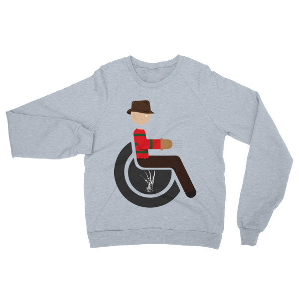 Adaptive Freddy Krueger Raglan Sweater