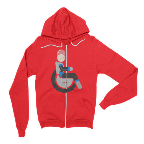 Adaptive Mr. Freeze Flex Zip Hoodie
