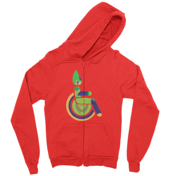 Men's Adaptive Semi-Perfect Cell Zip Hoodie