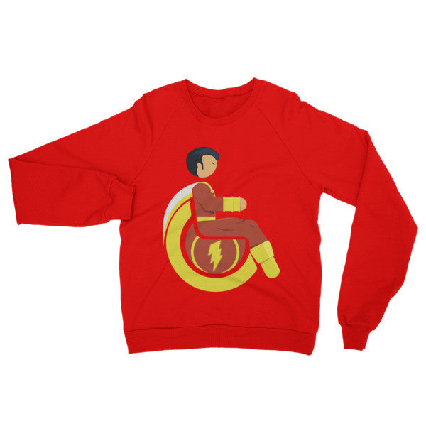 Adaptive Mr. Marvel (Shazam) Raglan Sweater