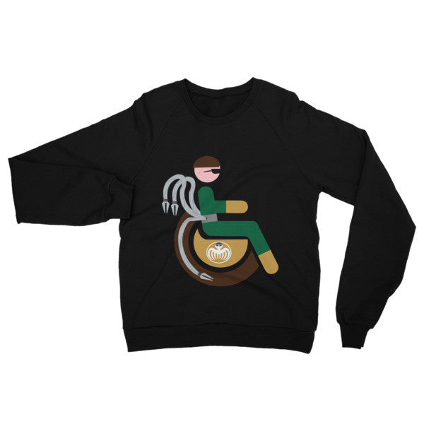 Adaptive Doctor Octopus Raglan Sweater