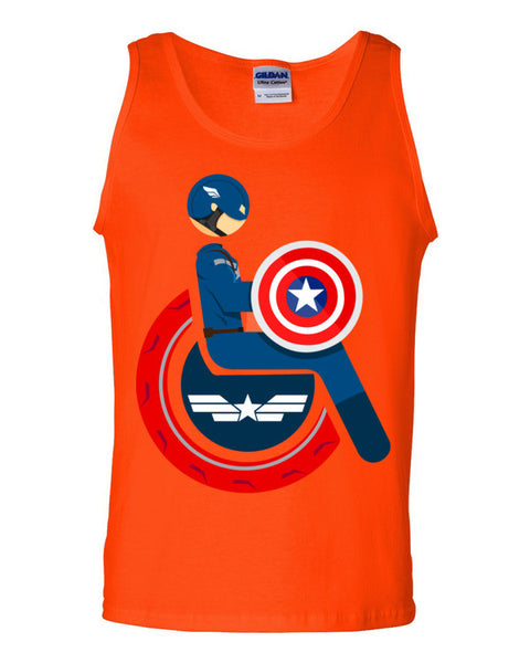 Men's Adaptive Captain America Tank Top