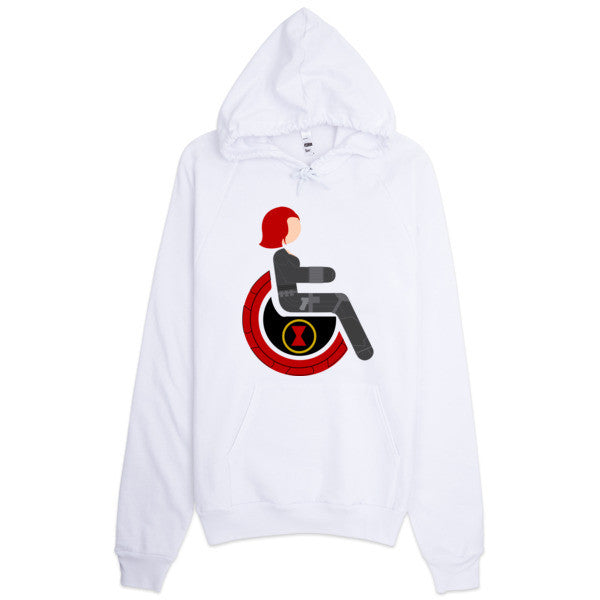Adaptive Black Widow Hoodie