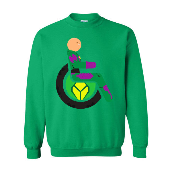 Men's Adaptive Lex Luthor Crewneck Sweatshirt
