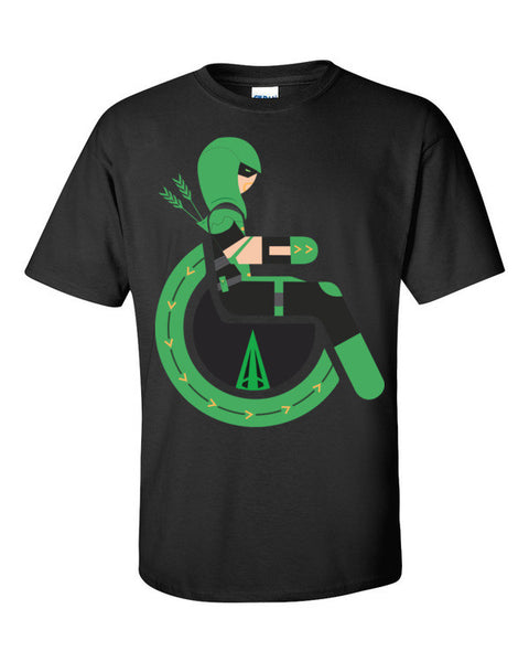 Men's Adaptive Green Arrow T-Shirt