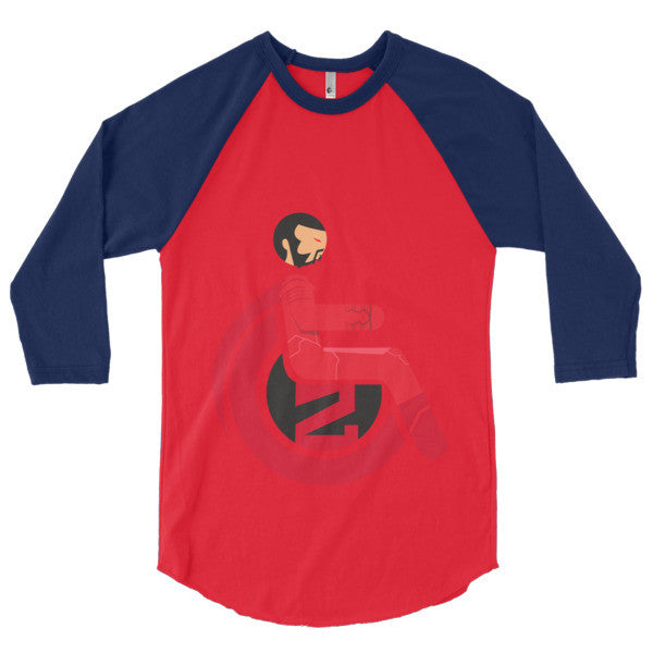 Men's Adaptive General Zod 3/4 Sleeve Raglan Shirt
