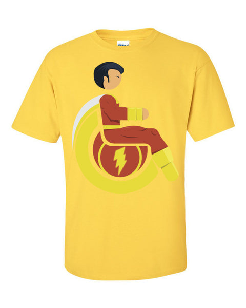 Men's Adaptive Mr. Marvel (Shazam) T-Shirt
