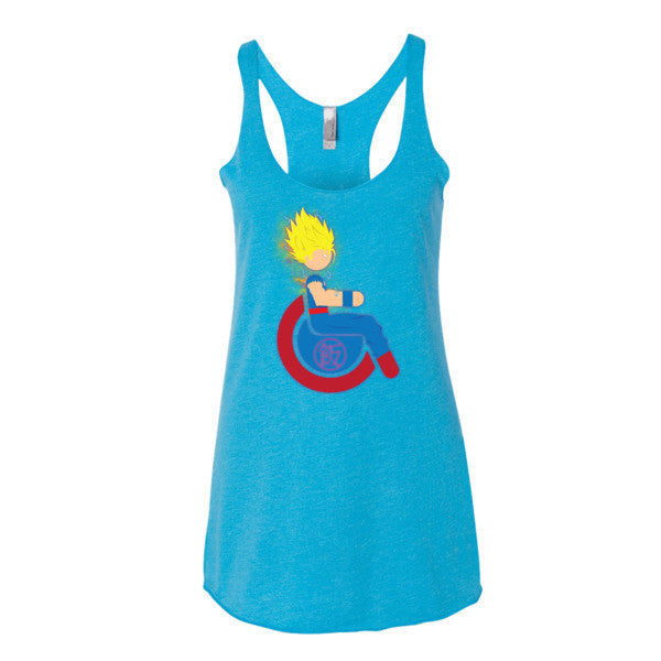 Women's Adaptive Super Saiyan 2 Gohan Tank Top (XS-L)