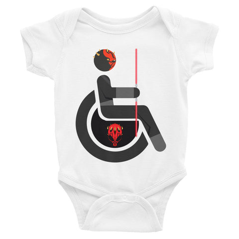 Adaptive Darth Maul Baby Onesie