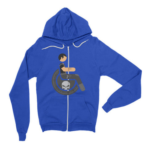 Adaptive Punisher Flex Zip Hoodie