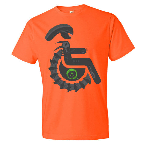 Men's Adaptive Alien Xenomorph Drone Lightweight T-Shirt
