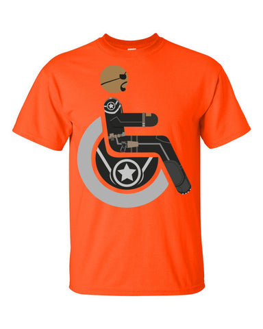 Men's Adaptive Nick Fury T-Shirt