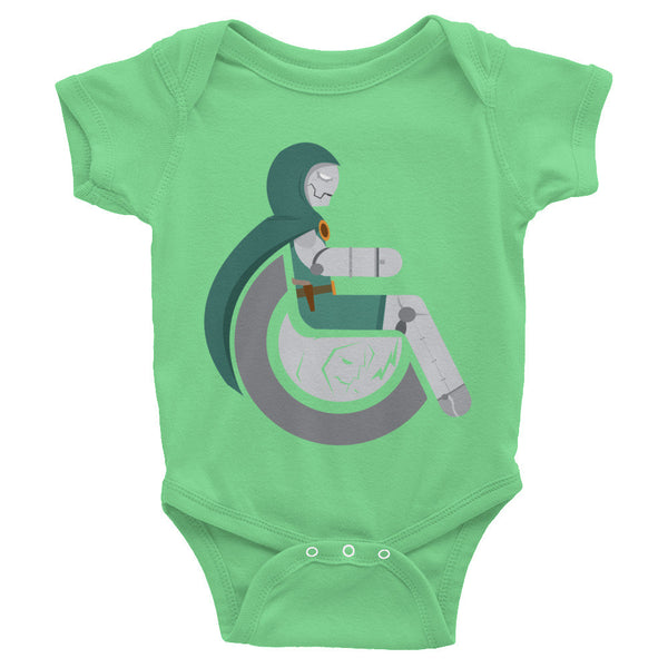 Adaptive Doctor Doom Baby Onesie