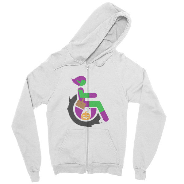 Men's Adaptive Green Goblin Zip Hoodie