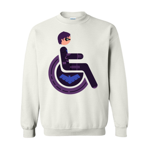 Men's Adaptive Nightwing Crewneck Sweatshirt