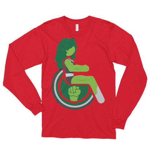 Adaptive She-Hulk Long Sleeve
